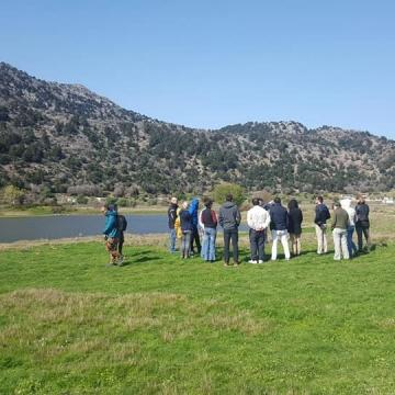 Visit to the protected Meditteranean Temporary Pond of Omalos