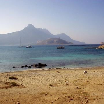 Imeri Gramvoussa island and the peninsula of Gramvoussa