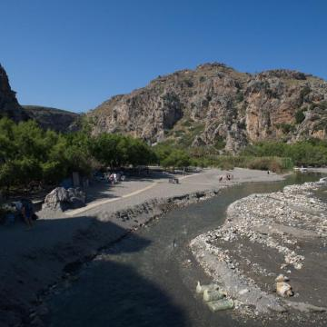 The palmforest of Preveli