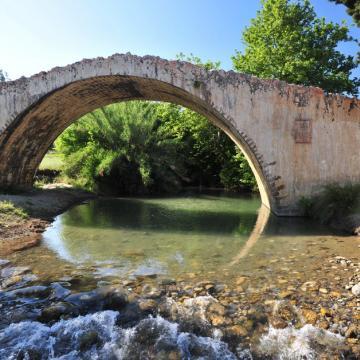 Το βενετσιάνικο γεφύρι, στο Φαράγγι Πρέβελη.