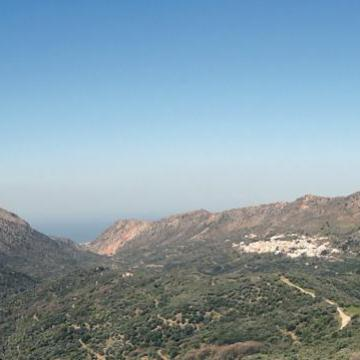 Panoramic view of the whole protected area