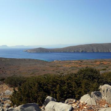 Νοτιοανατολική άποψη της Διονυσάδας.
