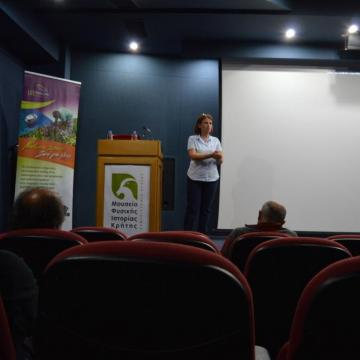 Ms Maria Roumeliotaki, Deputy Mayor of the Environment, Cleaning and Civil Protection of the Municipality of Ierapetra