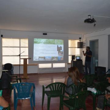 Ο κος. Μπαρνιάς παρουσιάζει τις αναπτυξιακές προοπτικές του οικοτουρισμού, Αλίκαμπος