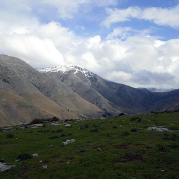 Οι δυτικές υπώρειες της Δίκτης, από το ορεινό Γεράκι.