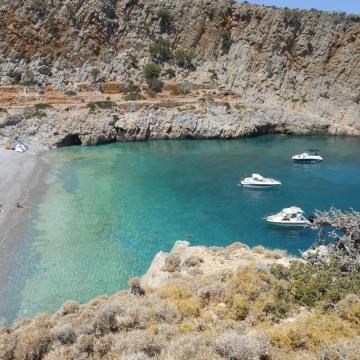 Menies beach, Agios Georgios Rodopou