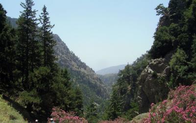 Agias Eirinis gorge