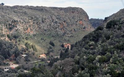 Το χωριό Θέρισσος.